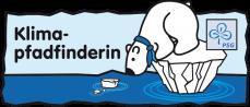 Logo Klimapfadfinderin